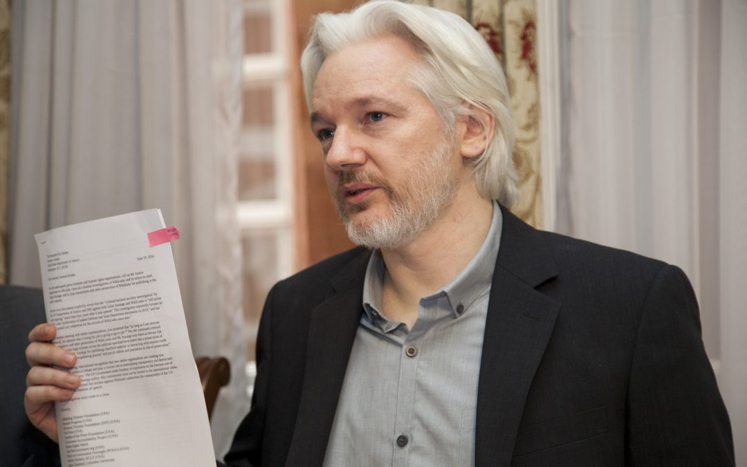 Defend Assange and press freedom