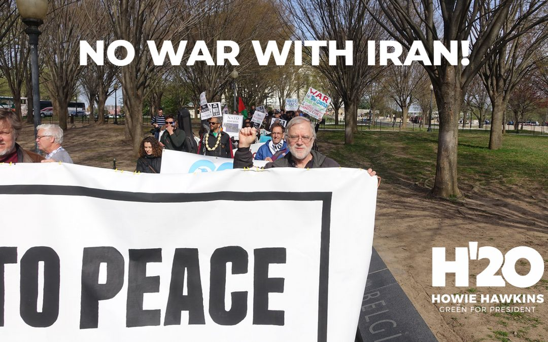 US Path To War In Iran Must Be Reversed