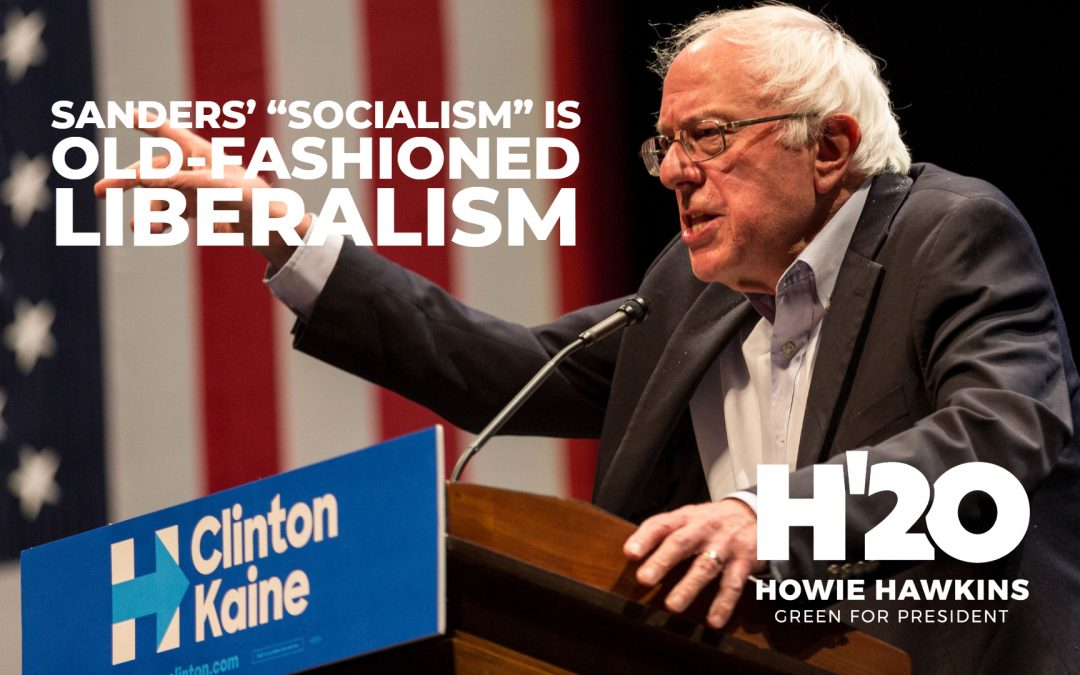 "Sanders' ""Socialism"" Is Old-Fashioned Liberalism"