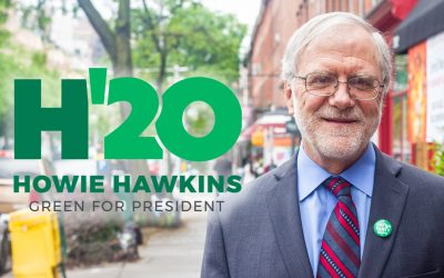 Howie Hawkins Democratic Debates Show The Need For Strong Green Party Presidential Campaign
