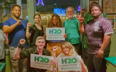 Hawkins officially recognized as Green Party candidate