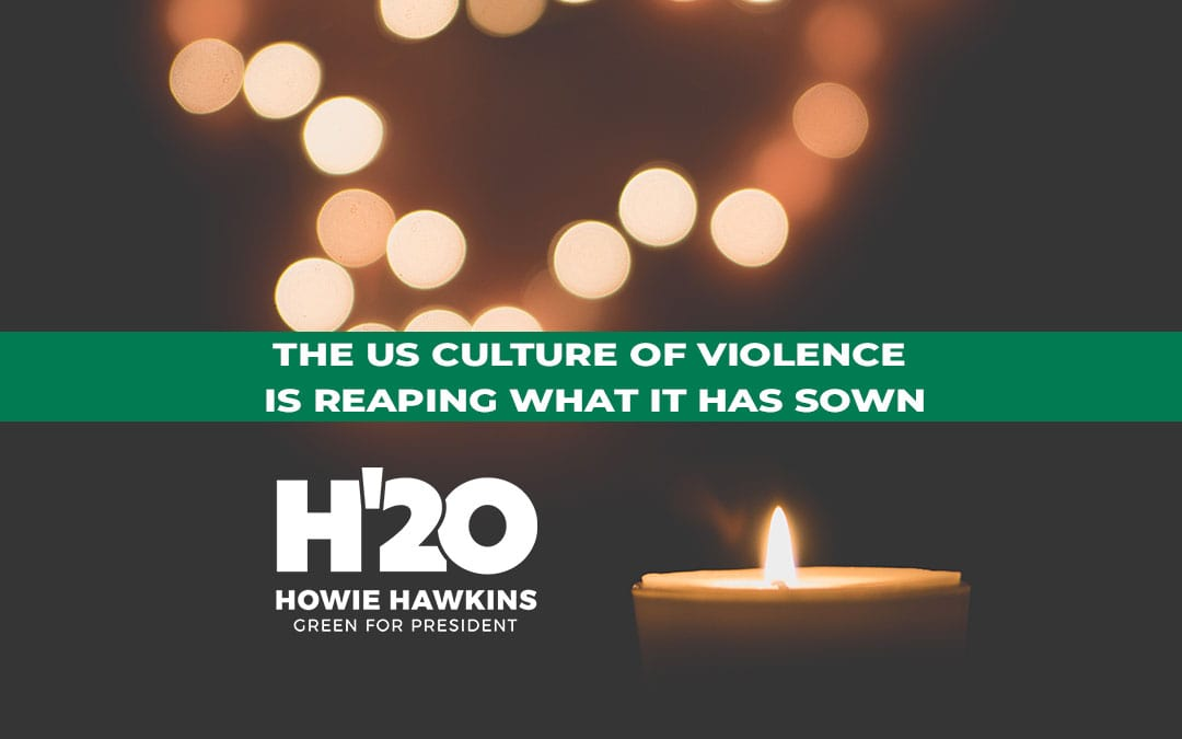 The US Culture of Violence Is Reaping What It Has Sown