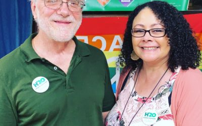 Supporter Kim Phillips on meeting Howie Hawkins