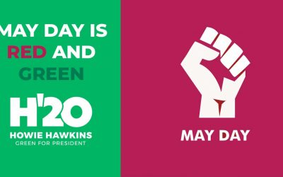 May Day is Red and Green