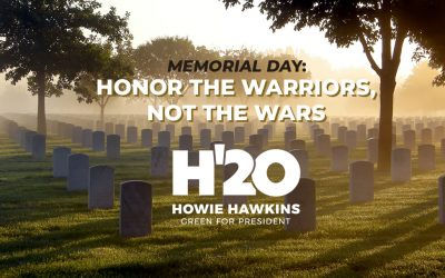 Memorial Day: Honor the Warriors, Not the Wars