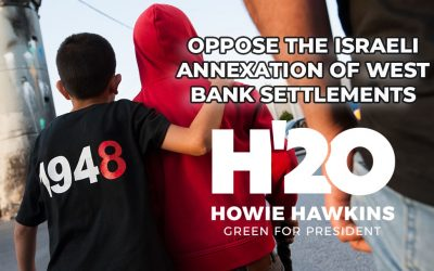 Oppose the Israeli Annexation of West Bank Settlements