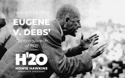 Remembering Eugene V. Debs' Canton Speech