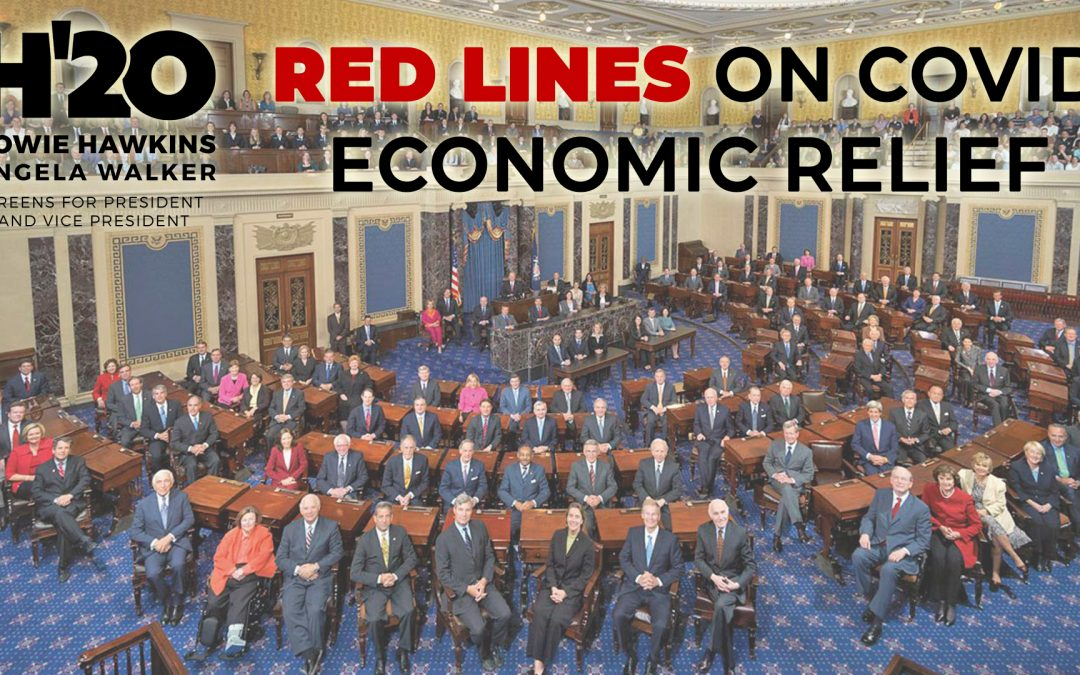 Red Lines For COVID and Economic Recovery