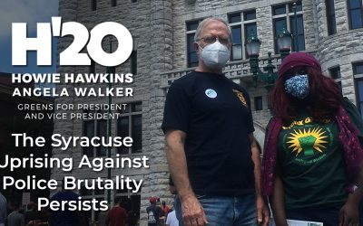 The Syracuse Uprising Against Police Brutality Persists