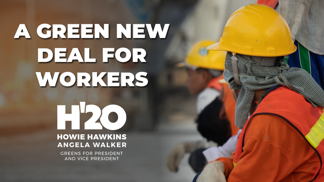 A Green New Deal for Workers