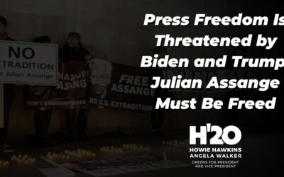 Press Freedom Is Threatened by Biden and Trump; Julian Assange Must Be Freed