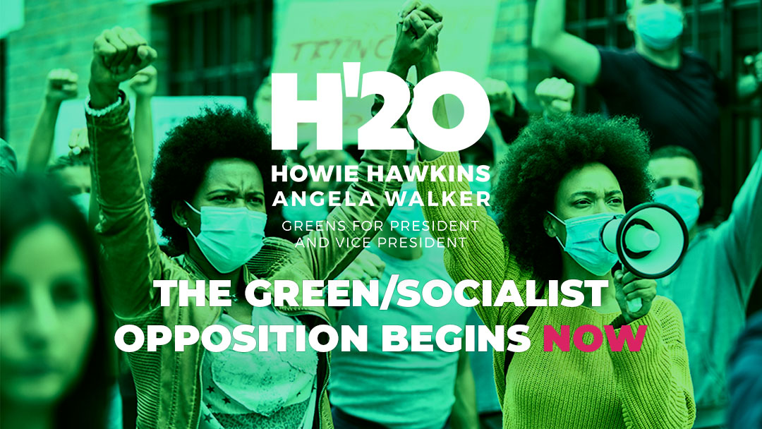 The Green Socialist Opposition to the Next Administration Begins Now