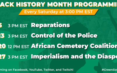 Black History Month Streams 2021