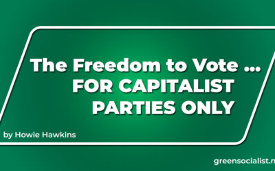 Freedom to Vote Act—For Capitalist Parties Only